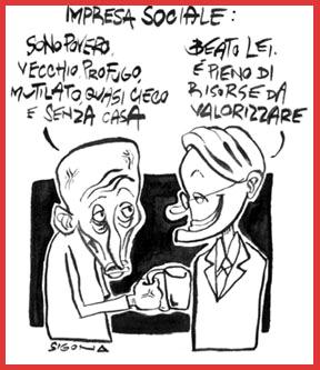 Vignetta di nando Sigona - 2001