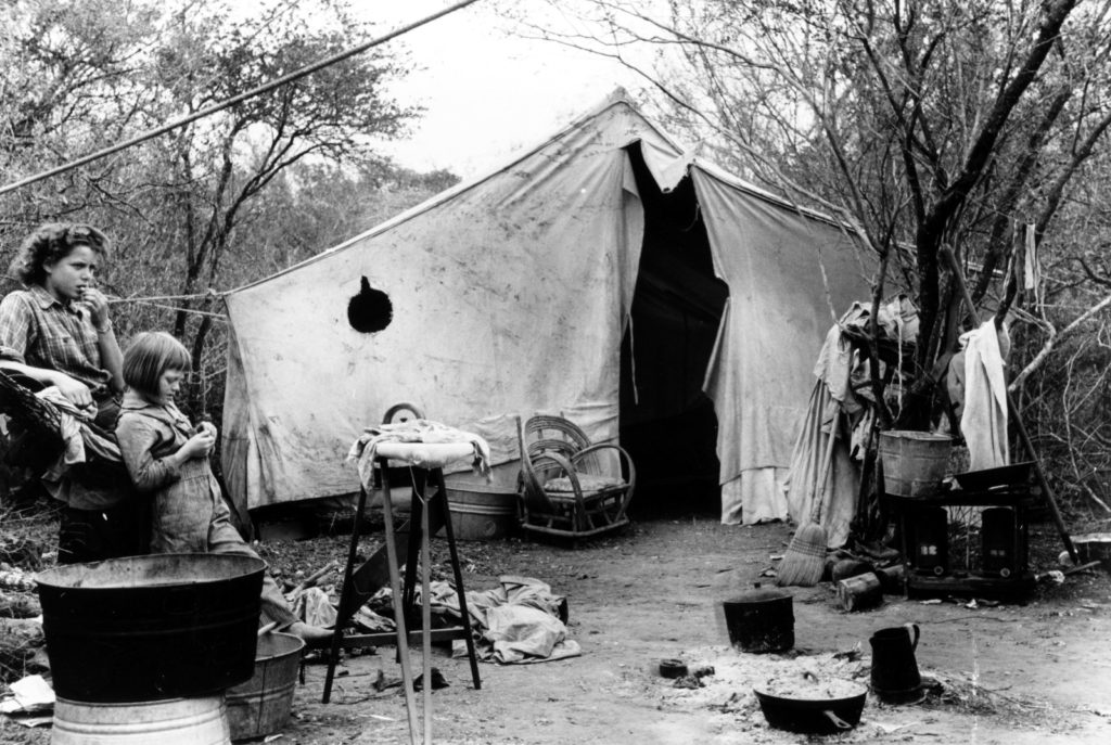 Migranti dell'Arizona in Texas, 1936